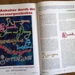 TextArt Artikel Pia Helfferich Per Anhalter durch die Literaturgeschichte